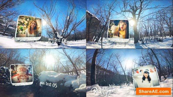 Videohive Winter Slide