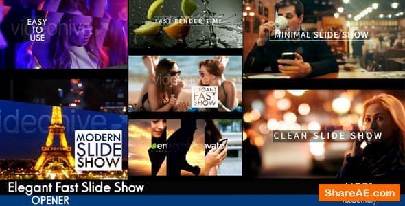 Videohive Elegant Fast Slideshow