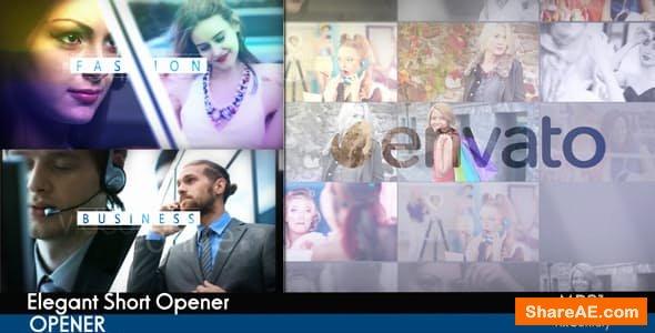 Videohive Elegant Short Opener