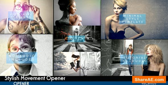 Videohive Stylish Movement Opener