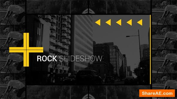 Videohive Rock Slideshow
