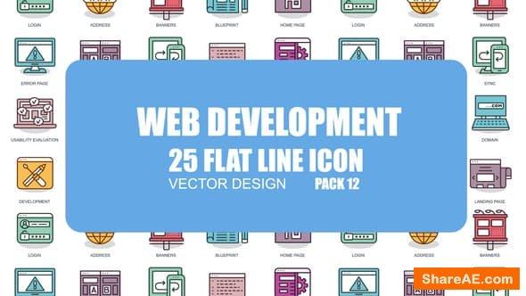 Videohive Web Development - Flat Animation Icons