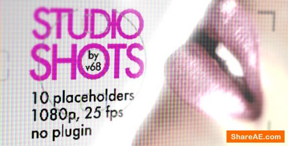 Videohive Studio Shots Promo Displays