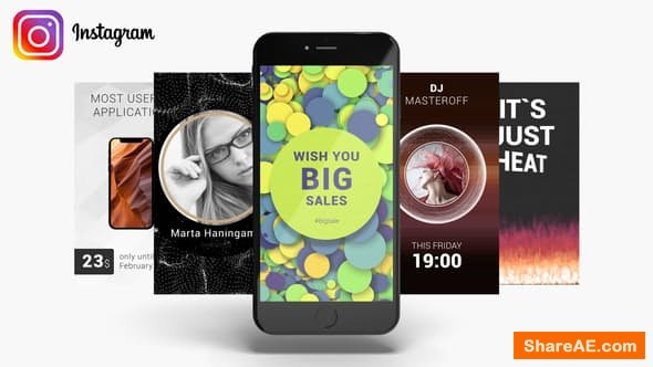 Videohive Instagram Stories Pack