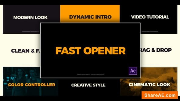Videohive Clean Fast Opener