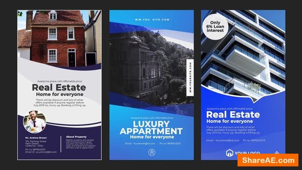 Videohive Real Estate Instagram Stories