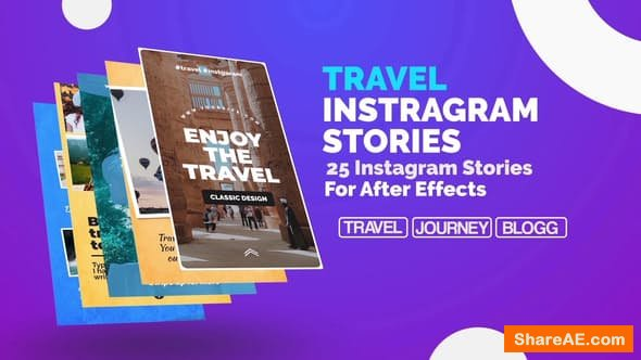 Videohive Travel Instagram Stories