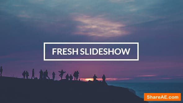Videohive Fresh Slideshow