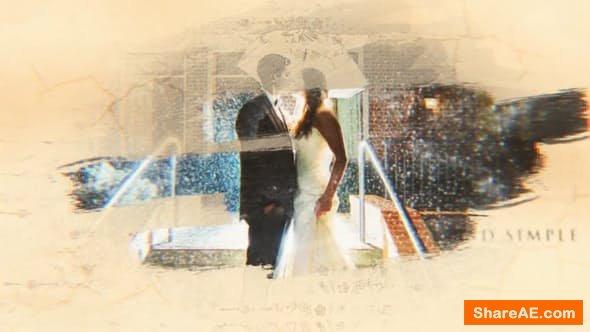 Videohive Wedding/Romantic Ink & Brush Story