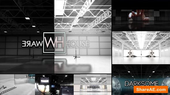Videohive Warehouse Template