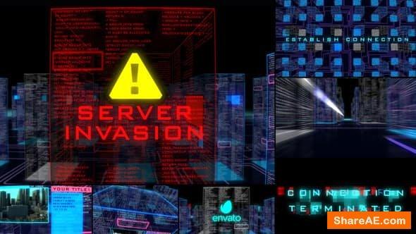 Videohive Server Invasion Template