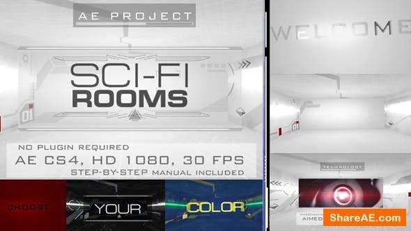 Videohive Sci-Fi Rooms