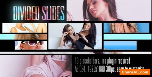 Videohive Divided Slides Template