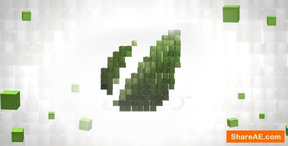 Videohive Cubes Logo Reveal