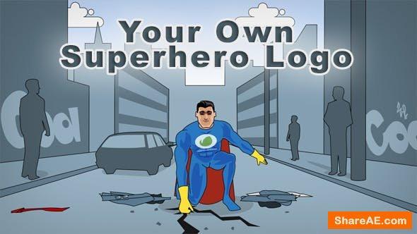 Videohive Your Own Superhero Logo