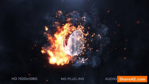 Videohive Logo Slam Explosion » free after effects templates | after