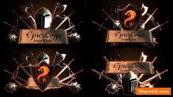Videohive Epic Battle Modular Logo Reveals