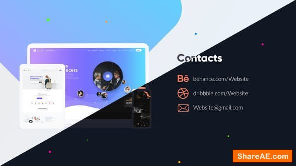 Videohive Website Video Presentation