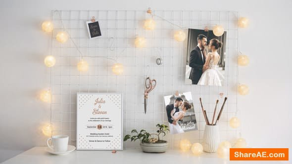 Videohive Wedding Invitation Template