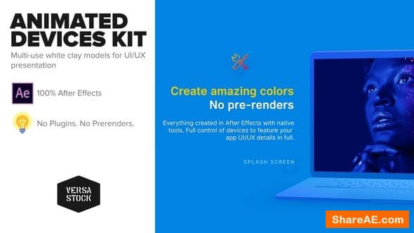 Videohive Animated Devices Kit | UI UX Promo