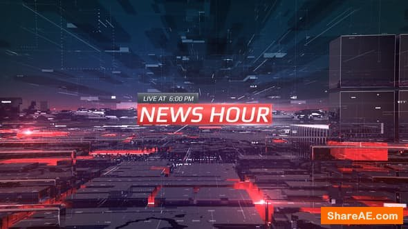 Videohive News Hour - PREMIERE PRO