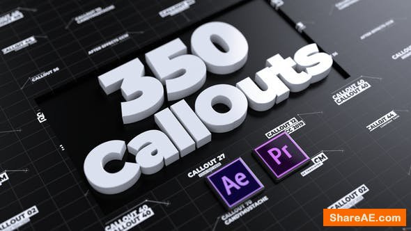 Videohive CallOuts | For Premiere Pro and After Effects - PREMIERE PRO