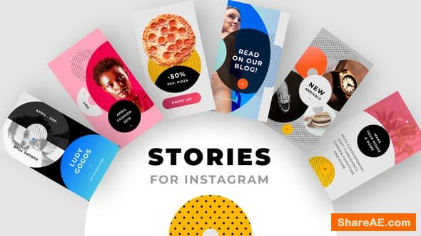 Videohive Instagram Stories Pack No. 1 - PREMIERE PRO
