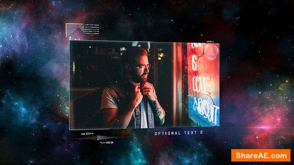 Videohive Space Holograms