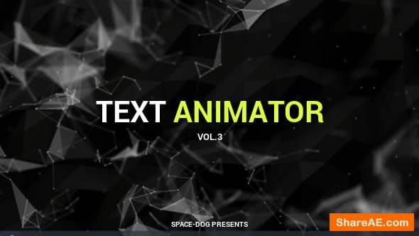 Videohive Text Animator vol.3