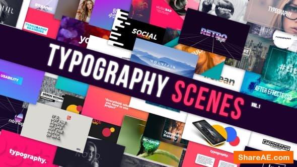 Videohive Typography 21069376