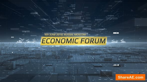 Videohive Economic Forum Opener
