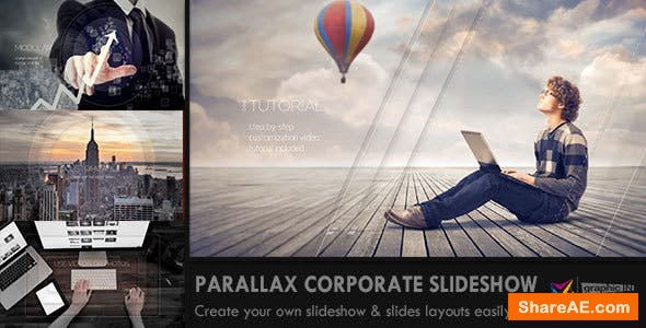 Videohive Parallax Corporate Slideshow
