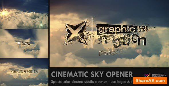 Videohive Cinematic Sky Opener