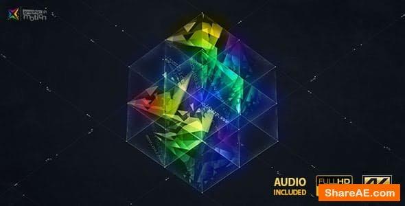Videohive 3D Magic Cube Logo Reveal