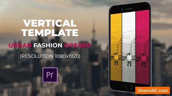 Videohive Urban Fashion Opener - PREMIERE PRO