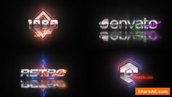 Videohive Retro Wave Logo