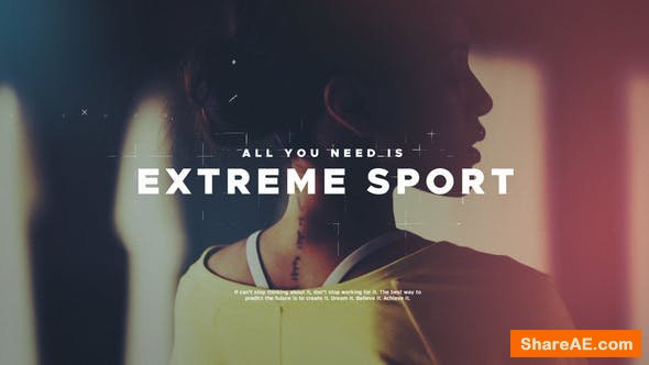 Videohive Extreme Sport