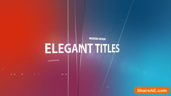 Videohive Elegant Titles 22129065