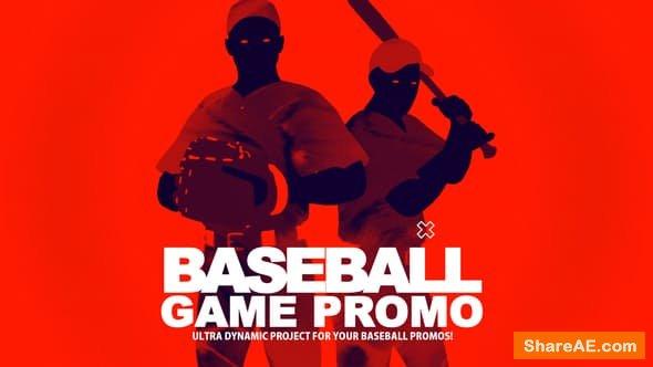 Videohive Baseball Game Promo