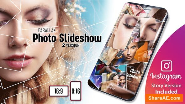 Videohive Parallax Photo Slideshow
