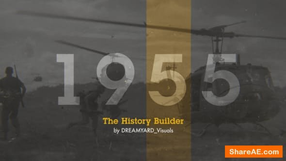 Videohive The History Timeline 23364932