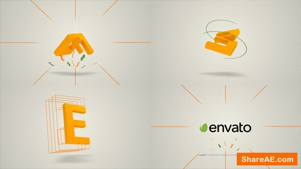 Videohive 3D Logo Reveal