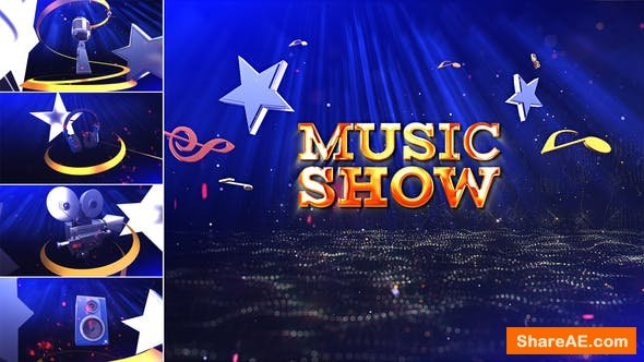Videohive Music Show 22663005