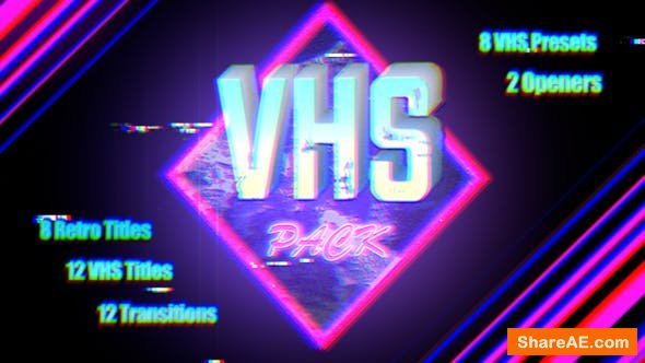 Videohive VHS Pack | Final Cut