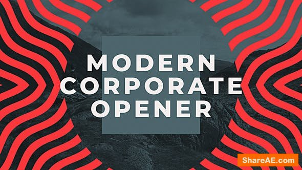 Videohive Modern Corporate Opener