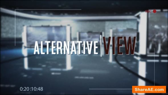 Videohive The Alternative View (Documentary Broadcast)
