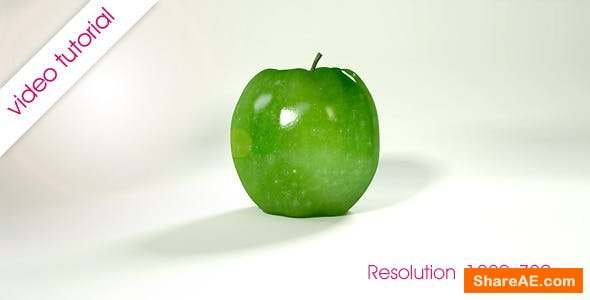 Videohive Rolling Fruit Apples Animation