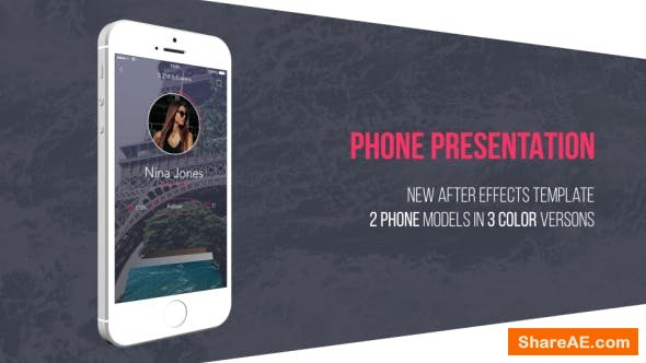 Videohive Phone Presentation Kit