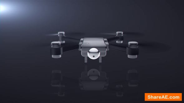 Videohive Drone Logo Reveal