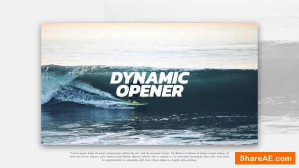 Videohive Dynamic Opener 21426274